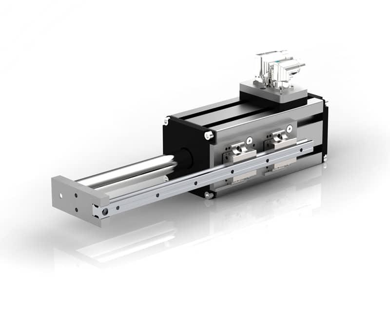 Anti-rotation mechanics for horizontal applications